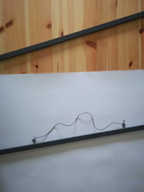Cómo hacer marcos con listones y cuerda