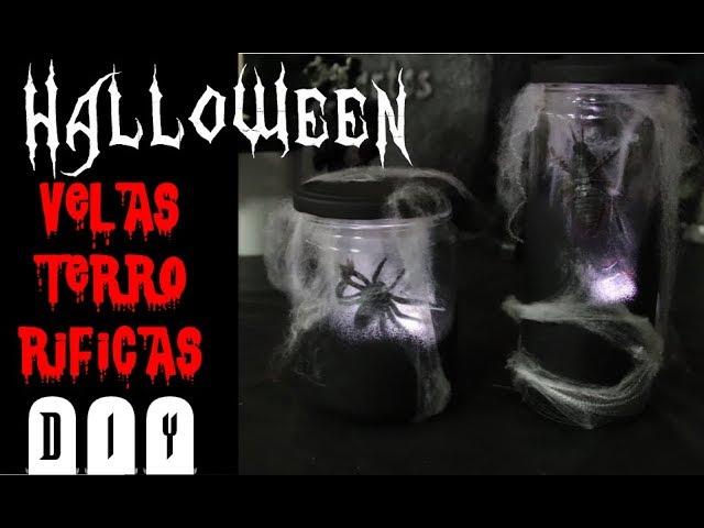 Velas Terrorificas Decoracion Halloween Handbox Craft Lovers - Imagenes-terrorificas-de-halloween