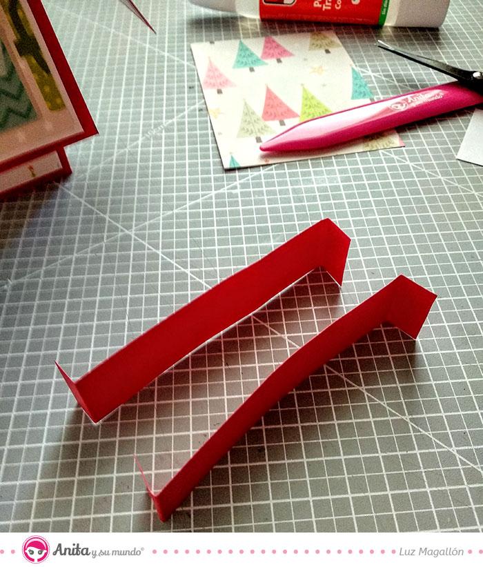 pestañas card in box