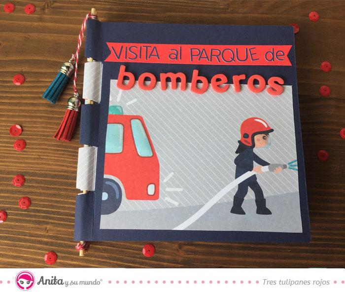 portada album infantil bomberos