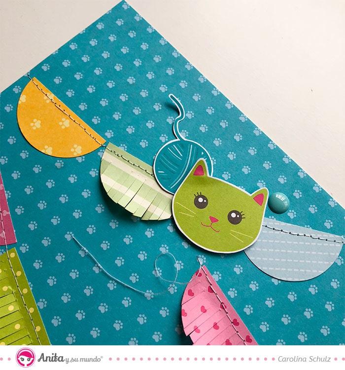 recortables colección papel mascotas