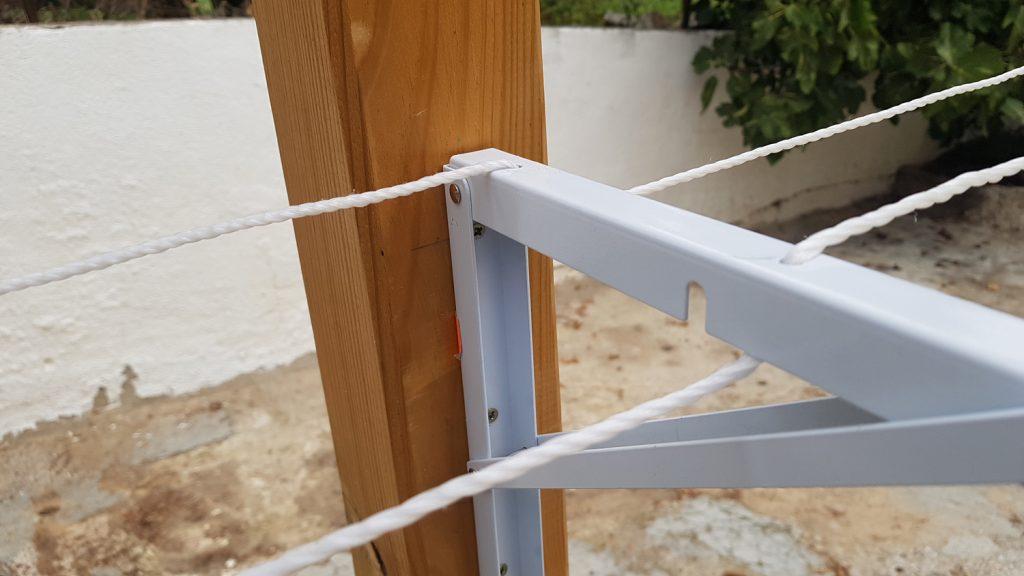 Tendedero plegable DIY - no se puede cerrar