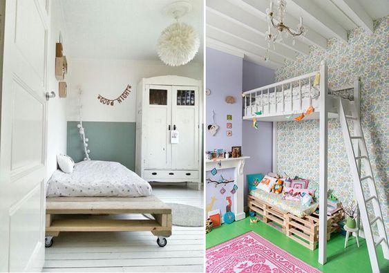 Ideas DIY para decorar dormitorios infantiles