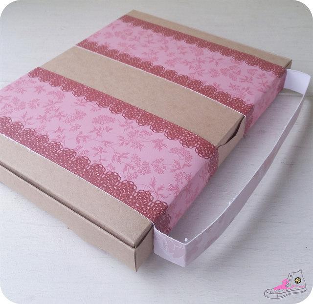 maleta cartón diy para snail mail