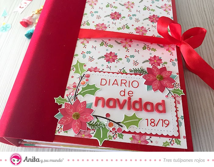 decoración álbum navideño