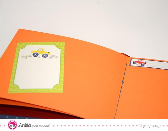 decoracion básica pagina interior album