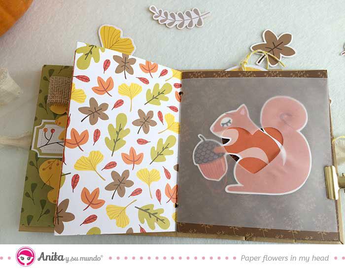 decorar con papel vegetal troquelado