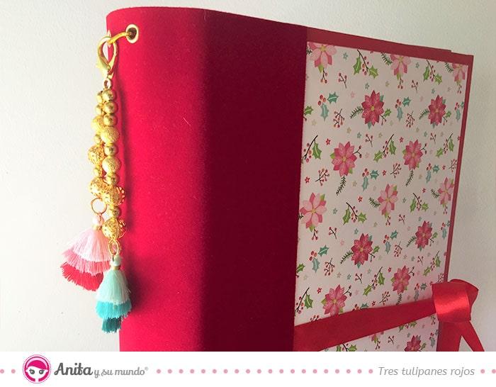 detalles decoración álbum de navidad