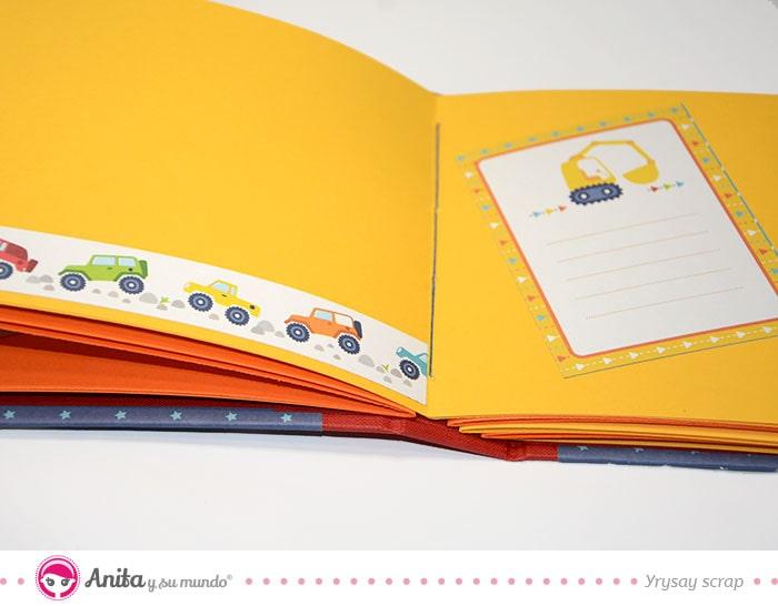 ejemplo pagina album cumpleanos