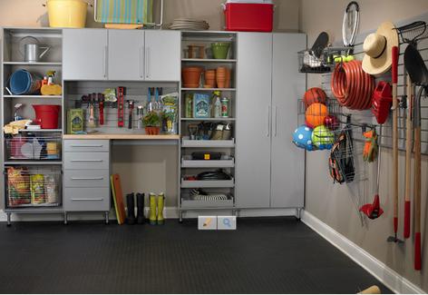 ¿Cómo organizar el garaje o el trastero?