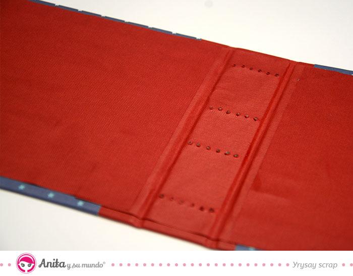 marcas para coser libro