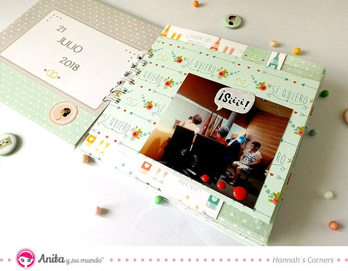 paginas interiores para album de boda