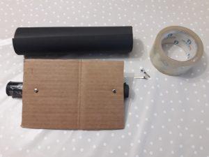 como hacer un buzón de correo mágico reciclando
