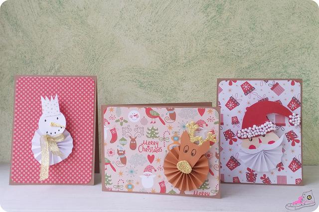 postales navideñas diy