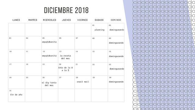 planning diciembre