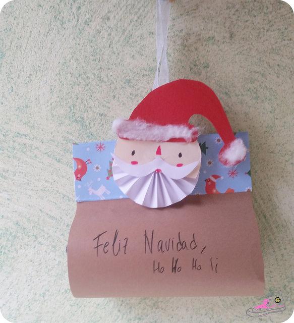 packaging colgante de navidad