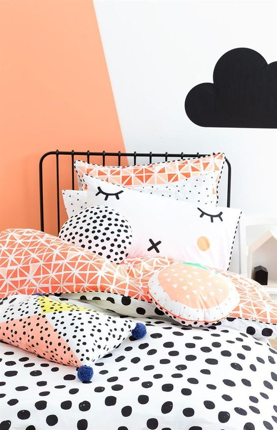 Coral color pantone para el 2019 - Habitaciones infantiles como alternativa al rosa chicle