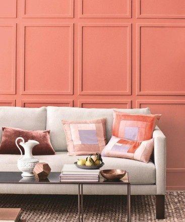 Coral color pantone para el 2019 - Pintar las paredes