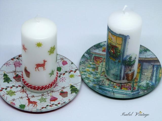 decorar-platos-cristal-velas