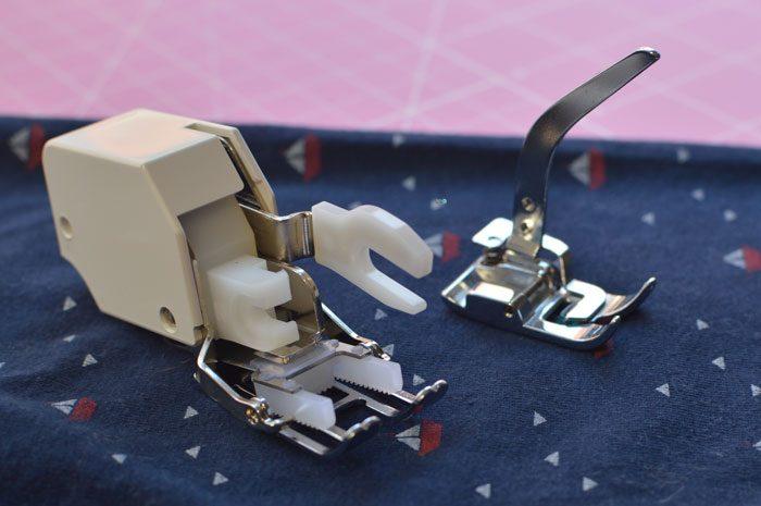 prensatelas maquina coser punto