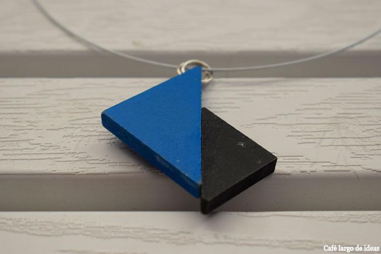 Cómo hacer un sencillo collar de tangram
