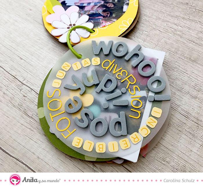 cómo componer con abecedarios adhesivos de anita