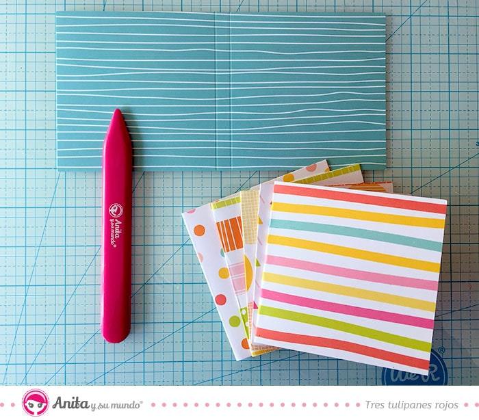 cómo hacer portadas de papel