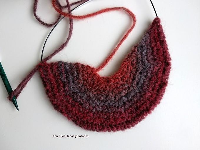 Con hilos, lanas y botones: DIY Gorro sesgado (patrón gratis)