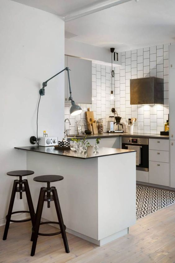 Apliques para iluminar la cocina