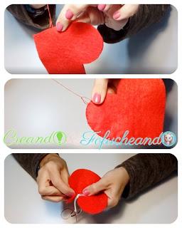 puntadas-Llavero-de-corazon-en-fieltro-detalle-para-san-valentin-creandoyfofucheando
