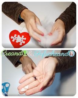 Relleno-y-mini-corazones-Llavero-de-corazon-en-fieltro-detalle-para-san-valentin-creandoyfofucheando