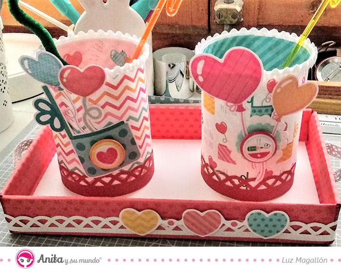 cómo decorar con papel y troqueladoras