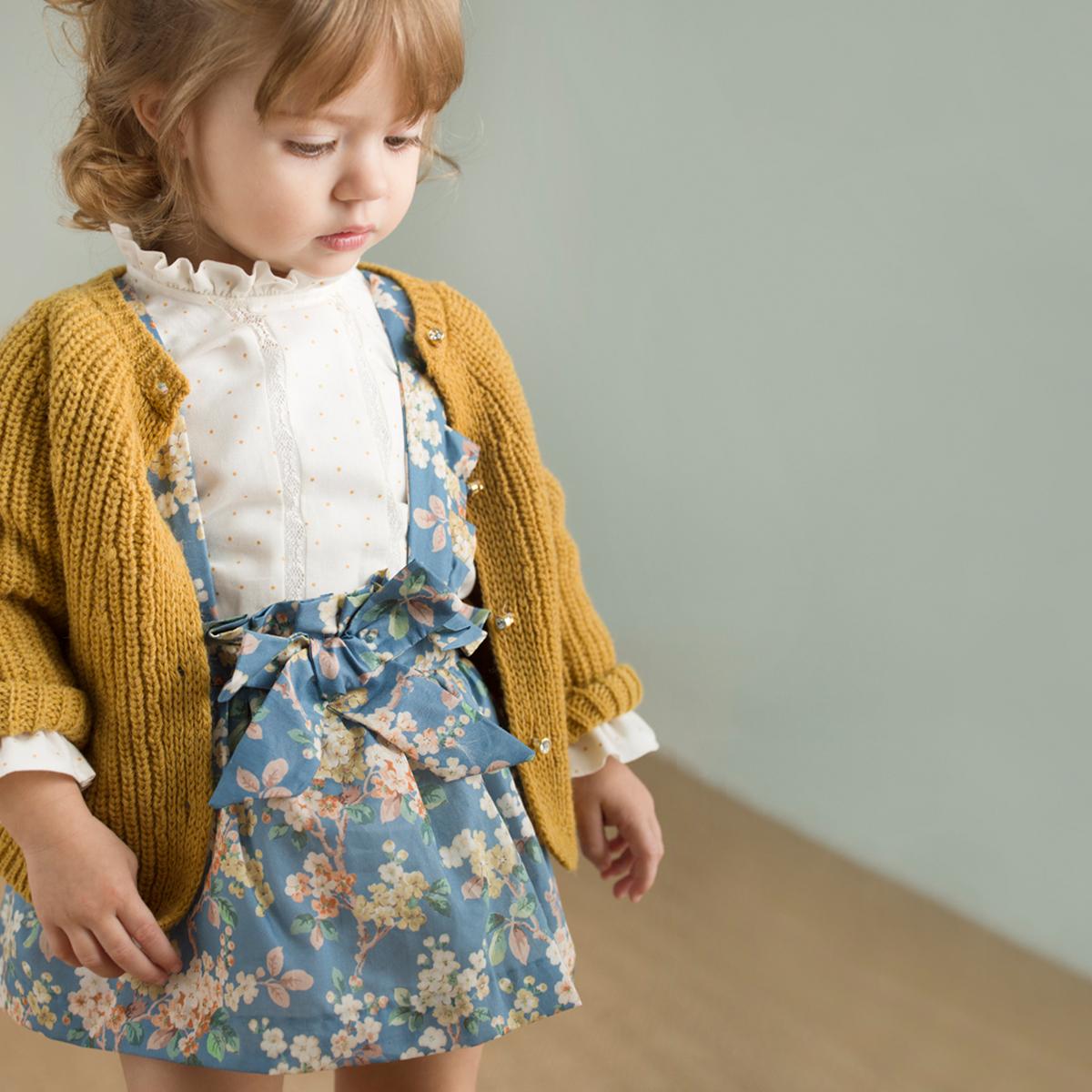 6a49e8b39 Patrones falda para niñas con tirantes (patrones gratis hasta talla ...