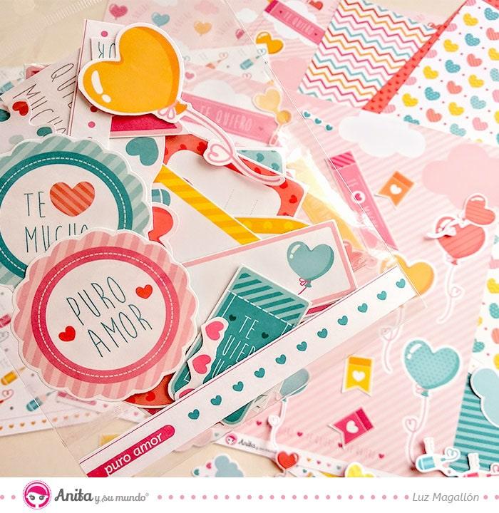 manualidades con papel para san valentín