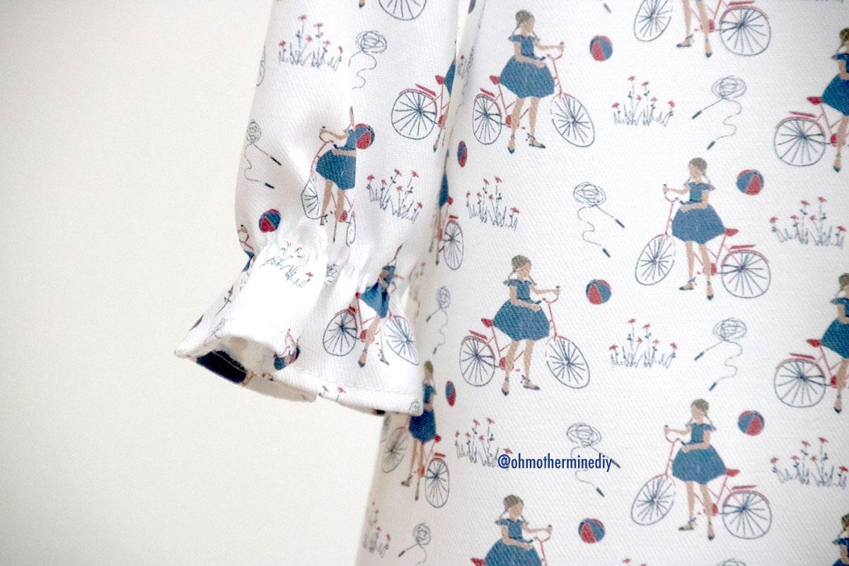 Patrones de vestidos en punto smock