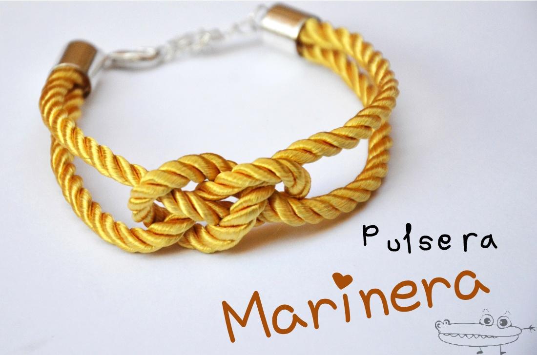 Pulsera de nudo marinero