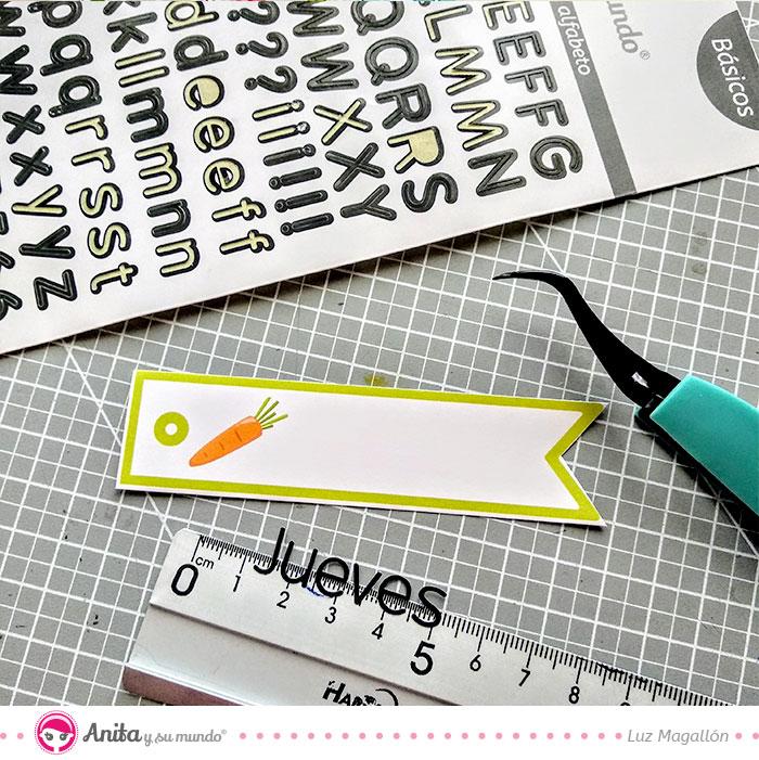 abecedarios adhesivos para scrapbooking