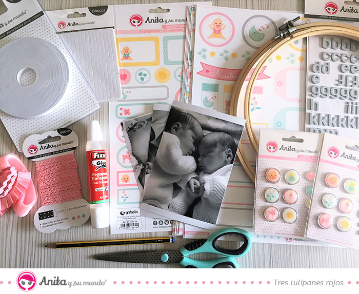 colección scrapbooking nuestra peque - ideas para regalos