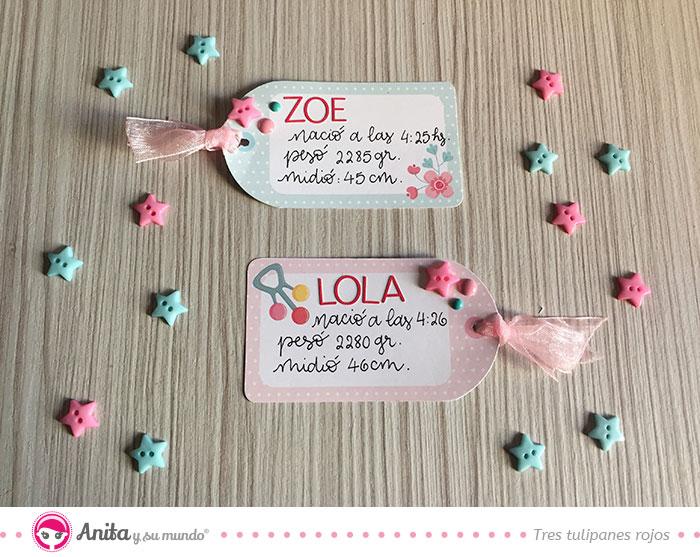 etiquetas para regalos para bebes