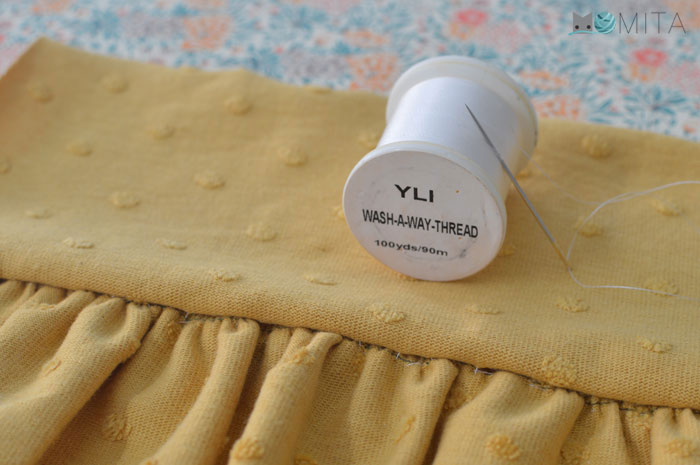 hilo soluble para costura