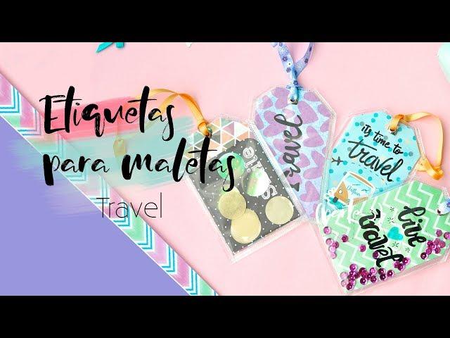 TARJETAS identificativas para MALETA de viaje | DIY | Lorena Gil
