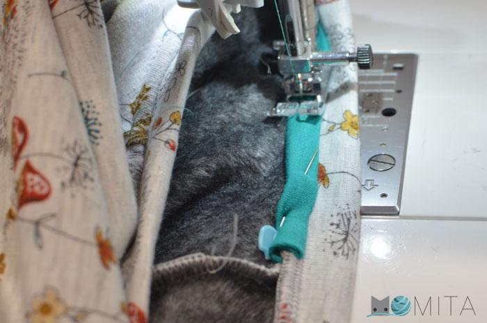 tapar costura y pulir