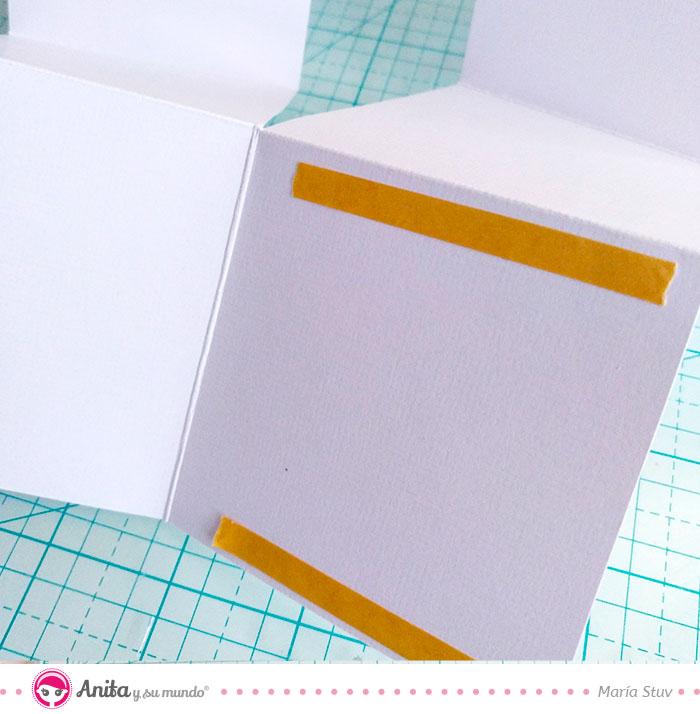 cinta adhesiva de doble cara de anita y su mundo para regalos de bebé