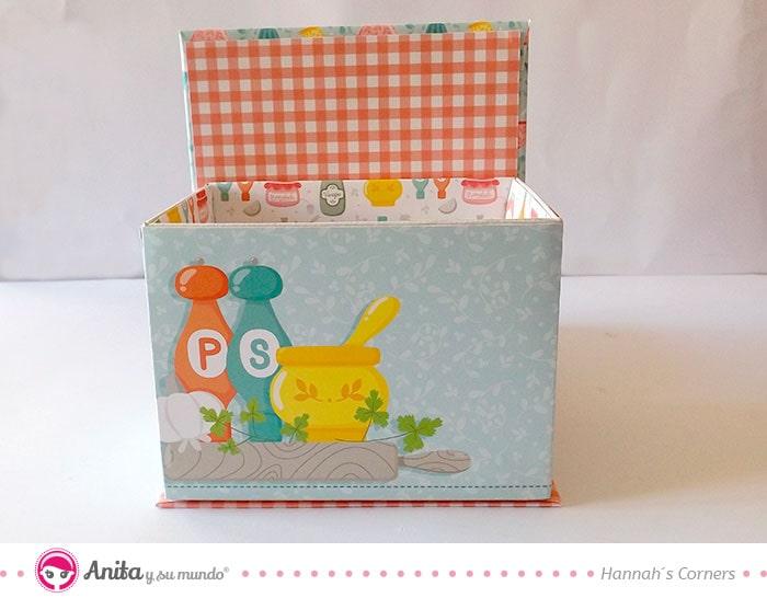 como decorar cajas de cartón con papeles bonitos