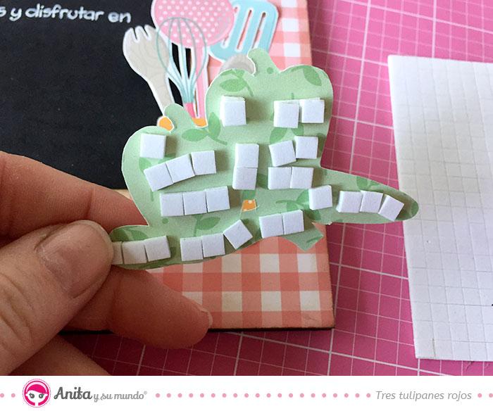 como decorar con recortables de papel