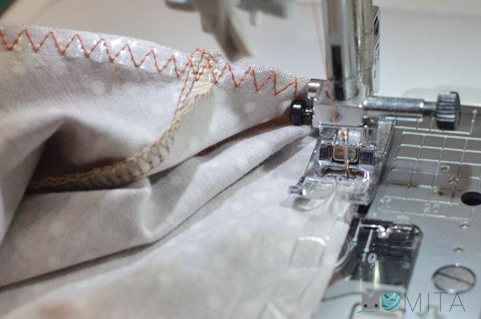 coser cinta silicona
