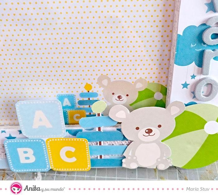 decorar con recortables de papel