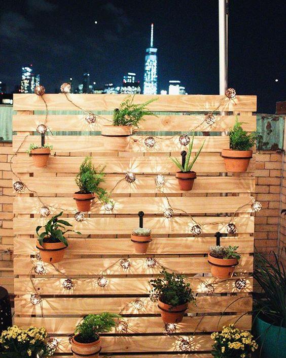 Iluminación para terrazas y balcones