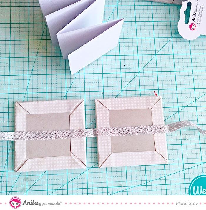 como encuadernar facilmente con cinta de algodon