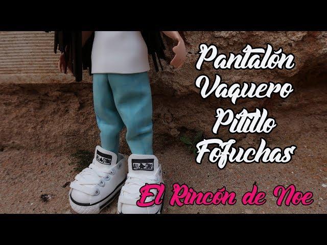 6b231106e COMO HACER PANTALON VAQUERO DE PITILLO PARA FOFUCHA El Rincón de Noe ...
